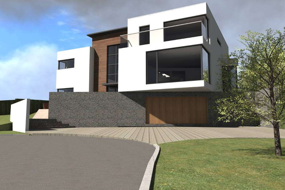 Architect New House Design In Saintfield Northern Ireland